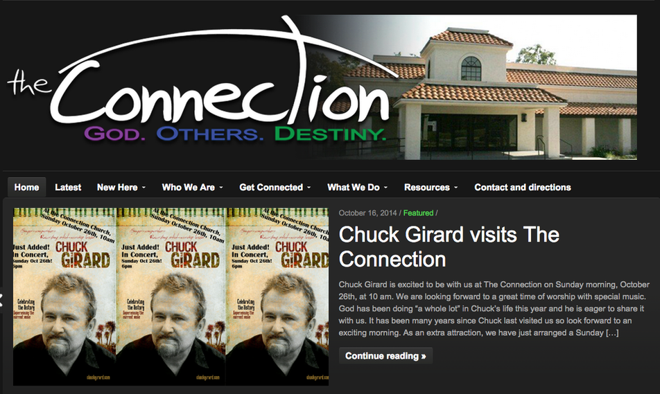 CHUCK GIRARD AT THE CONNECTION- POWAY, CA